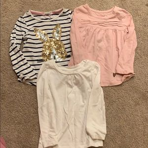 Perfect condition girls tops 3T